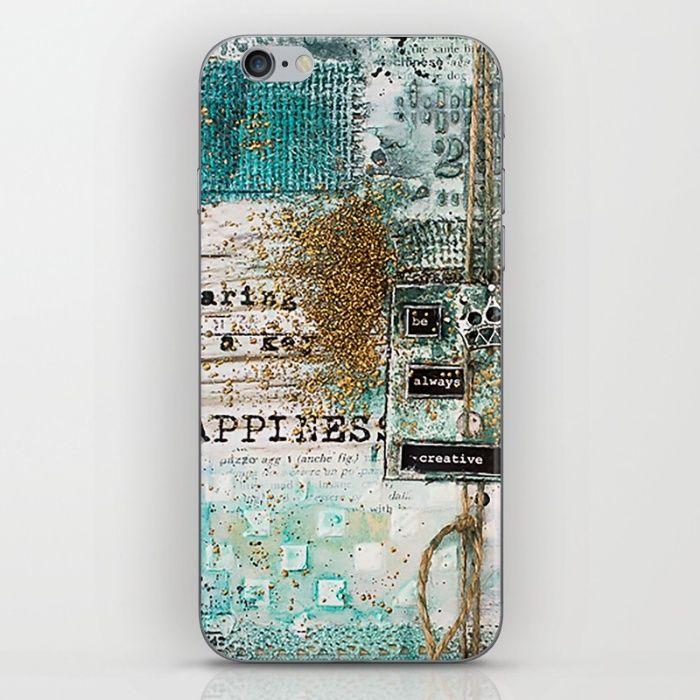 be always creative iPhone & iPod Skin