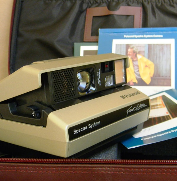 Polaroid Spectra System First Edition in by Mylittlethriftstore, $50.00