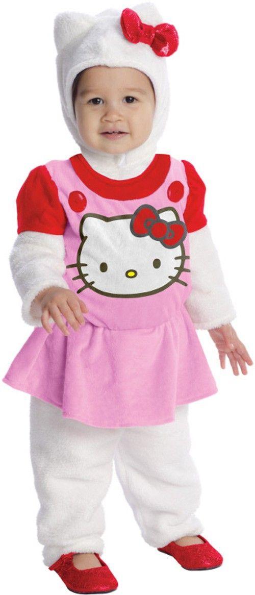Hello Kitty Toddler Girl's Costume