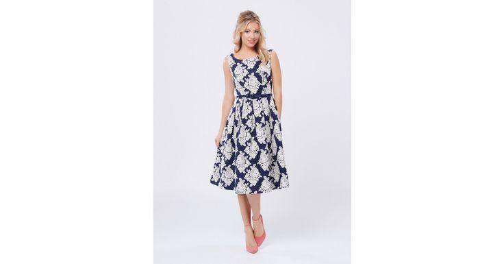Review Australia - Much Love Prom Dress Navy/cream