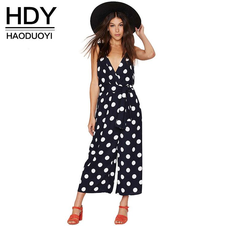 Sexy v-neck Backl...  ...  Buy it now to avail 10% discount .. Get it now!!   http://shop.mustified.com/products/hdy-women-autumn-sexy-v-neck-backless-jumpsuits-dot-print-waisted-lady-rompers-for-wholesale-and-free-shipping-haoduoyi?utm_campaign=social_autopilot&utm_source=pin&utm_medium=pin