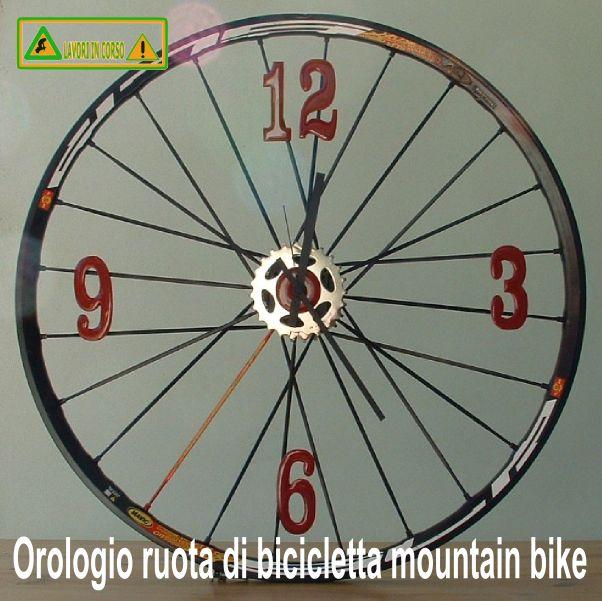 Orologio ruota di bicicletta mountain bike