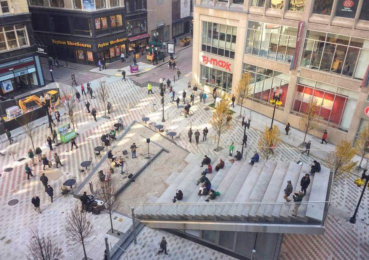 Downtown Crossing Plaza Höweler + Yoon
