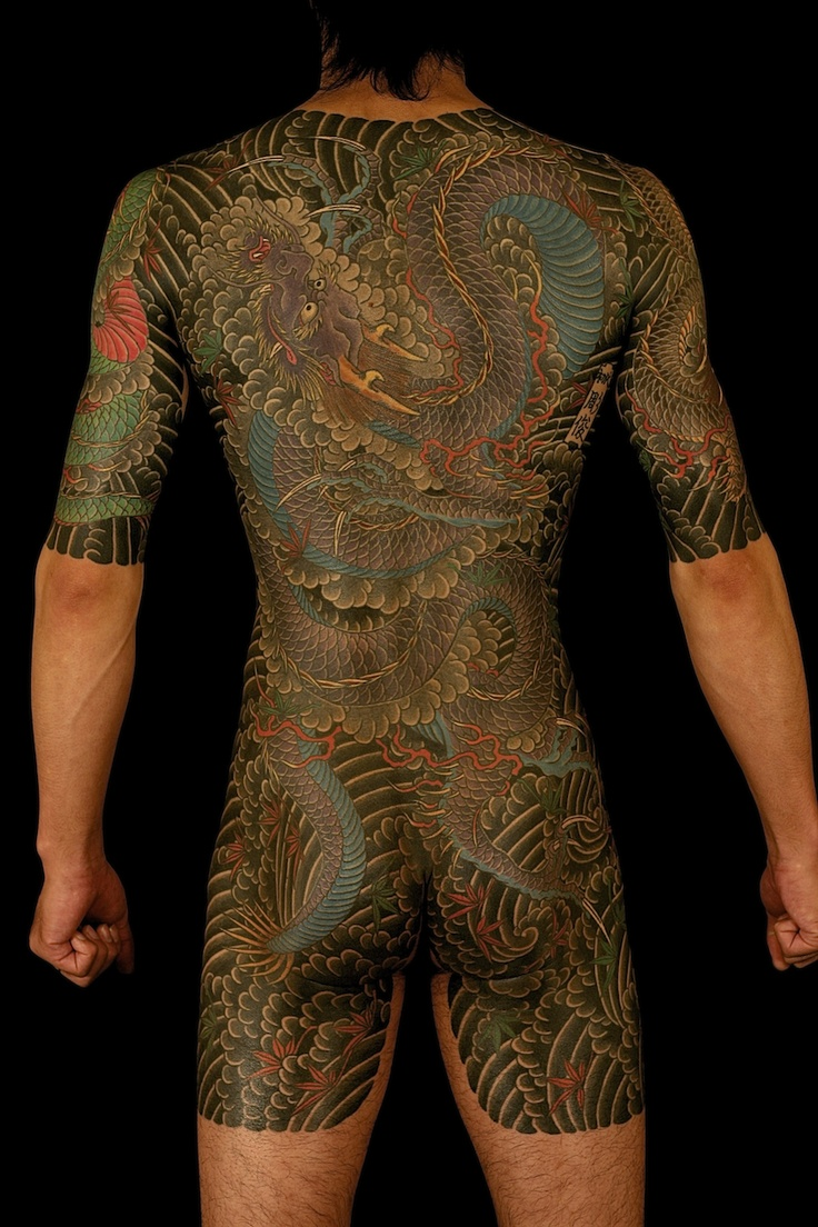 17 best images about body suits on pinterest for Japanese body tattoo