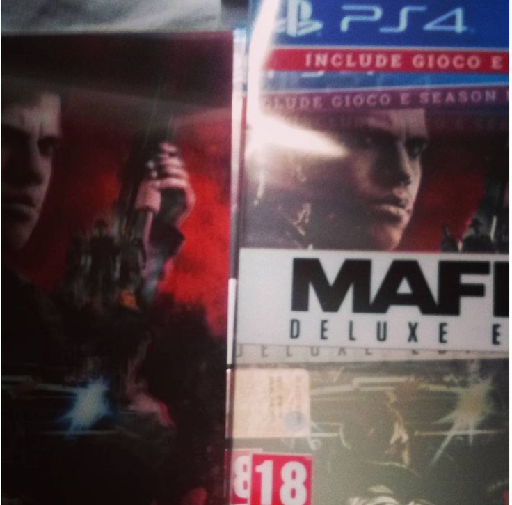 little poster 3d of Mafia 3 game & season pass and 2 dlc