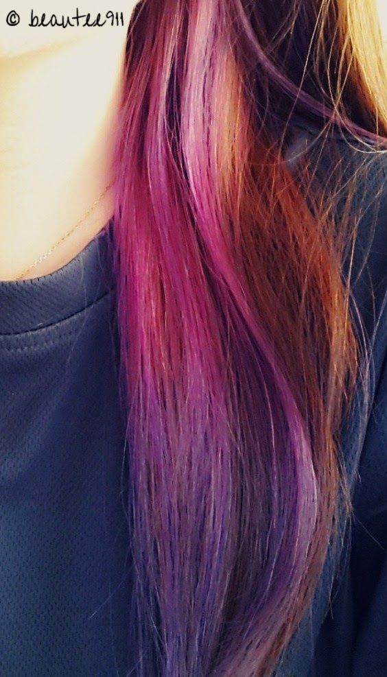 La Riche Directions Semi-Permanent Hair Dye - Violet & Dark Tulip