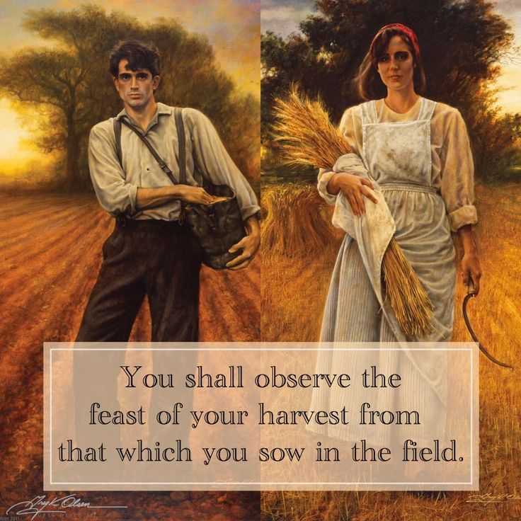 """""""The Sower"""" & """"The Harvester"""""""