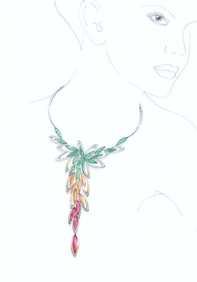 183 best nyjdi jewelry renderings images on pinterest for Learn to draw jewelry