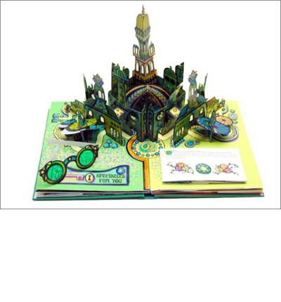 This deluxe pop-up version of Baum's timeless classic celebrates Oz's 100th anniversary, and includes such special effects as the twisting cyclone, the wizard's balloon sailing into the sky, and a holographic foil for the Emerald City, complete with green glasses for the reader. This slightly abridged version unfolds in booklets on every spread, each sprinkled with additional pop-ups. Full-color illustrations. 8 spreads.