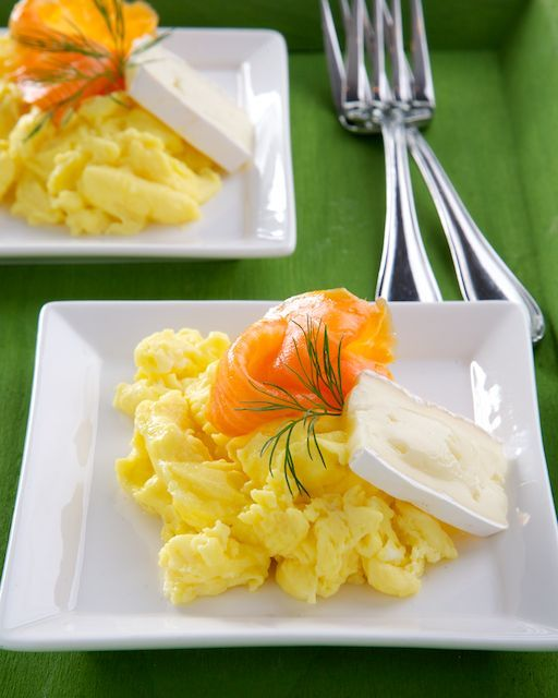 Rose Reisman Recipe: Scrambled Eggs with Brie Cheese and Smoked Salmon