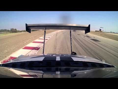 FIRE: Chris Rado grenades his 1,200 horsepower Scion tC at Global Time Attack - YouTube