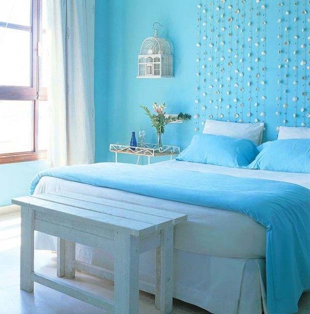 slaapkamer ideeen | Lichte slaapkamer met bijpassend beddengoed. Door nettje