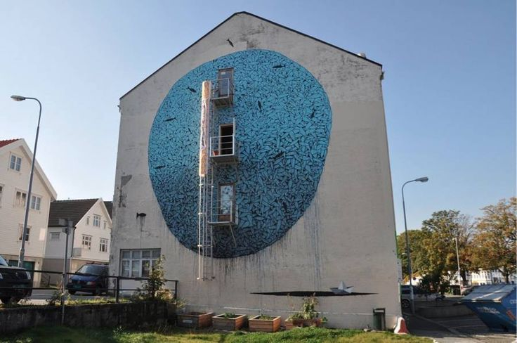 Amazing Abstract Street Art by Tellas – Fubiz Media