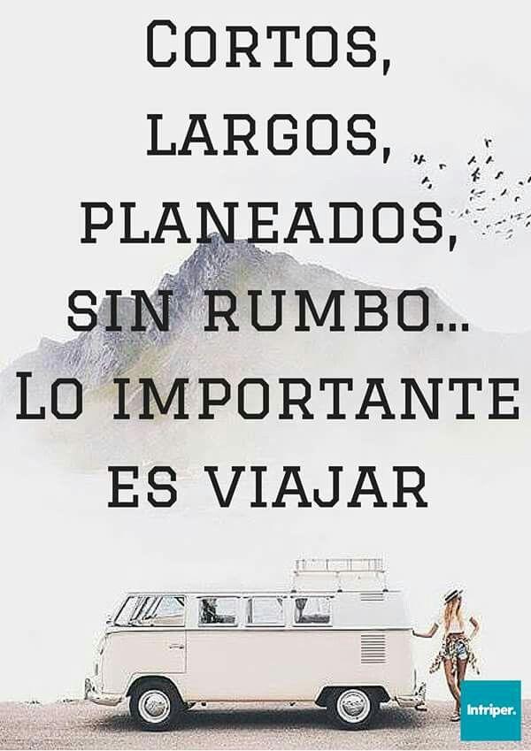 Lo importante es viajar