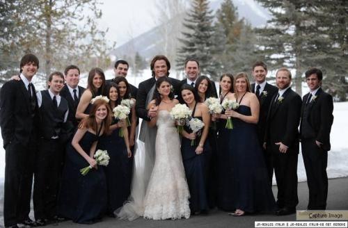 genevieve padalecki wedding | Red Carpet Wedding: JARED PADALECKI AND GENEVIEVE CORTESE WEDDING