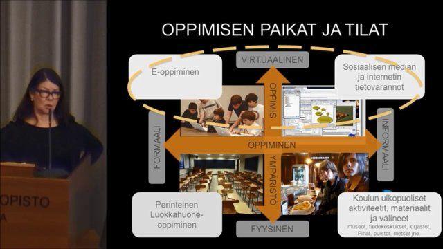 Professori Leena Krokfors: Uusi opetusteknologia oppimisen edistäjänä - Kaikkialla.fi 2013