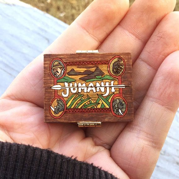 Miniature Jumanji Game Board Replica Prop 1:12 Scale Artisan
