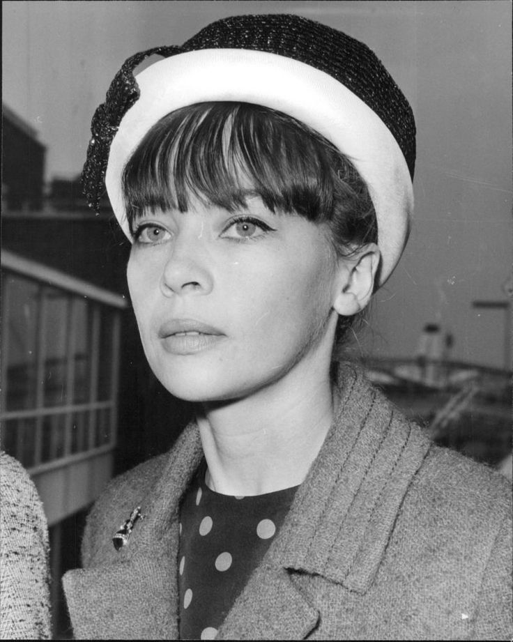 Vintage Photo OF Close UP OF Leslie Caron AT London Airport | eBay