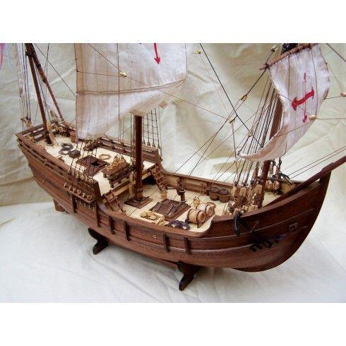 LA PINTA 1492 - Carabela del descubrimiento (510 mm Eslora)