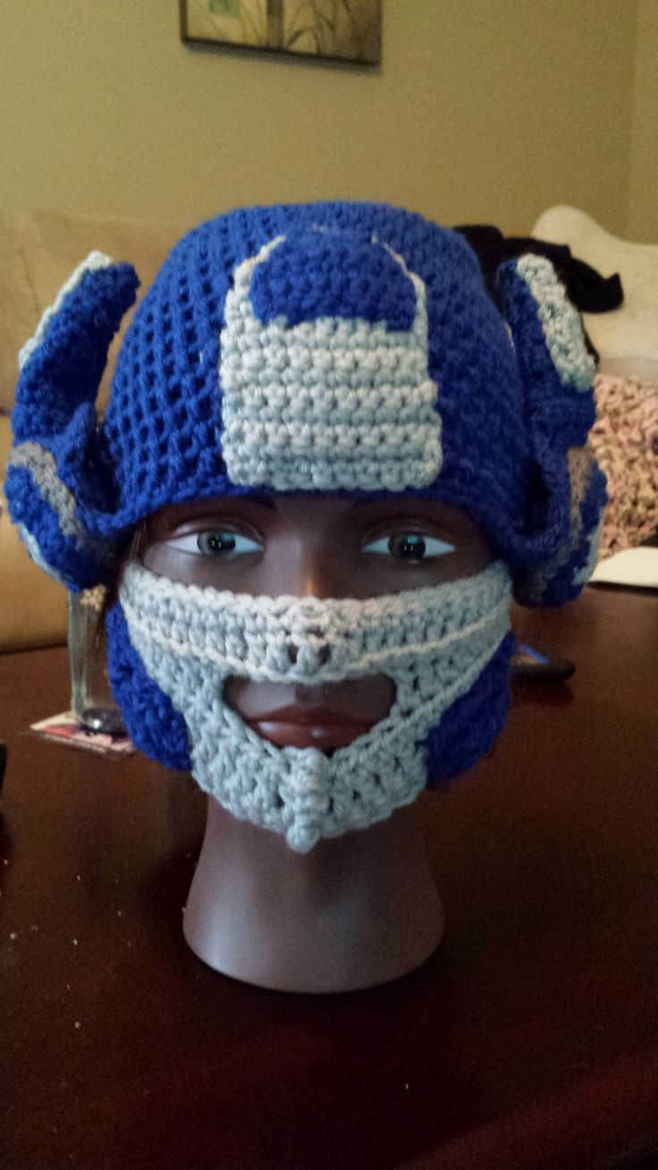 Crochet Pattern For Optimus Prime Hat : 17 Best images about Beanies and Hats of all sorts on ...
