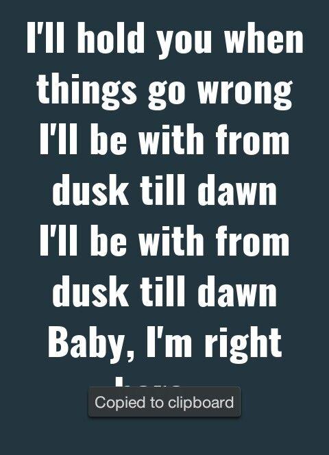 Zayn - Dusk Till Dawn ft. Sia #zayn #sia #lyrics #dusktilldawn #music #2017 #quotes #inspiration