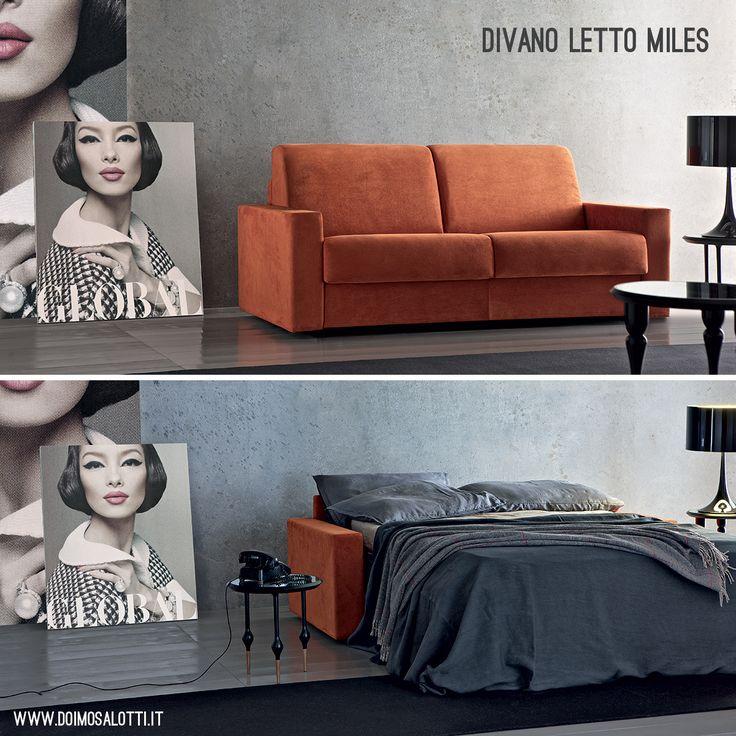 17 best images about divani letto doimo salotti on pinterest belle night and tes - Divano letto comodo per dormire ...