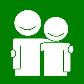 Pictogram Vrienden groen 1