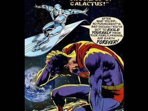 1996  Norrin Radd se sacrifico para salvar su mundo de la aniquilación total. Ahora, es el único superviviente del otrora hermoso planeta Zenn-la. ¡Se le conoce como Silver Surfer! De niño, Kal-El fue colocado por su padre, Jor-El, en una capsula espacial y enviado fuera de su planeta. El único superviviente de Krypton es ahora el guardián de Metropolis.