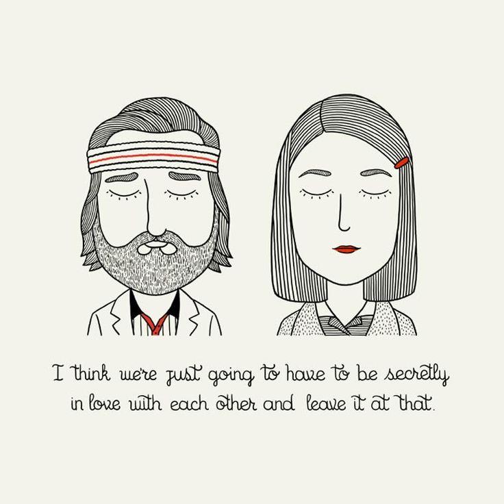 Tous les personnages de Wes Anderson réunis dans une jolie série d'illustrations