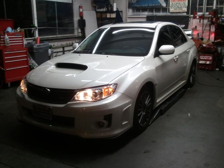 2013 WRX STI. #VIP complete window tint limo and 20  percent colors stable