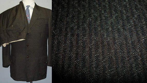 1950s Suit / 40 / M / Western Suit / H Bar C / Rockabilly /