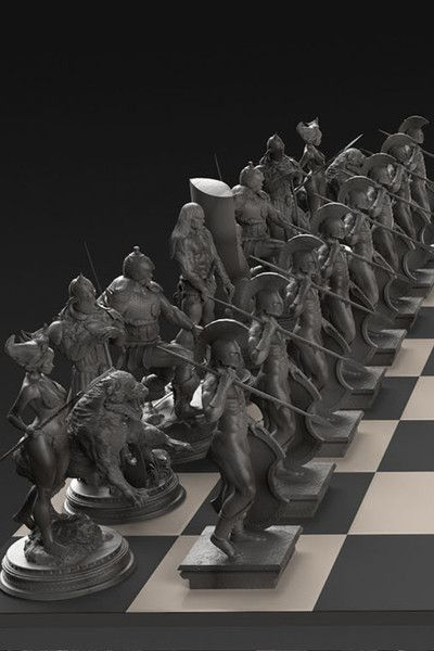 Excellent 354 best Exotic chess sets images on Pinterest | Chess, Chess sets  JS95