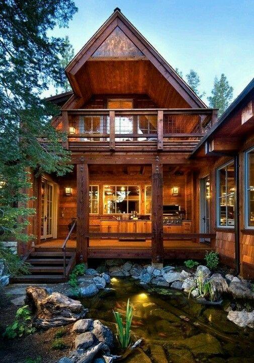 Dream pond that should go right next to dream patio!