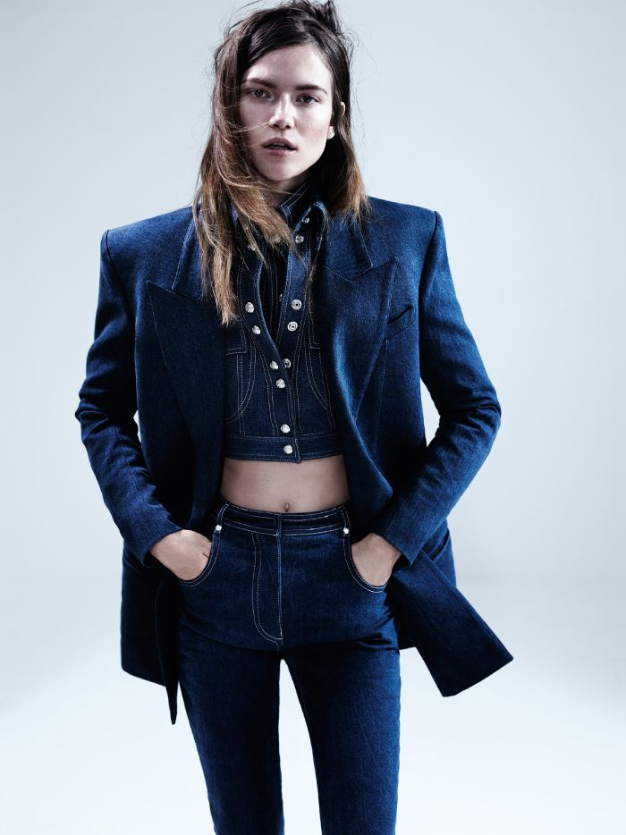 Denim on Denim | Dazed April Issue 2013 | by Josh Olins | Robbie Spencer Fashion Editor/Stylist