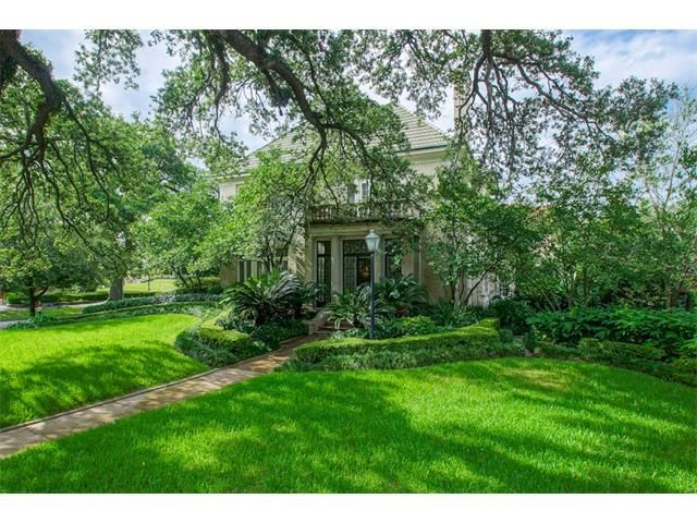 For Sale - See photos and descriptions of 5200 St Charles Ave, New Orleans, LA. This New Orleans, Louisiana Single Family House is 3-bed, 4-bath, listed at $2,795,000  MLS# 2066986. Casas de venta en New Orleans, LA.