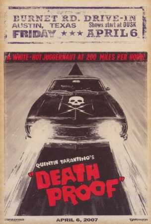 """Deathproof - """"Did you hear me butterfly?"""" the whole movie is Zoe Bell! She's brilliant"""