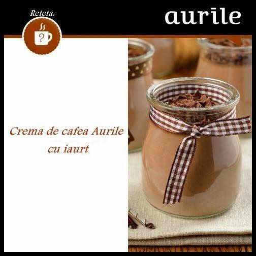 Afacerea FM Group: Crema de cafea Aurile cu iaurt