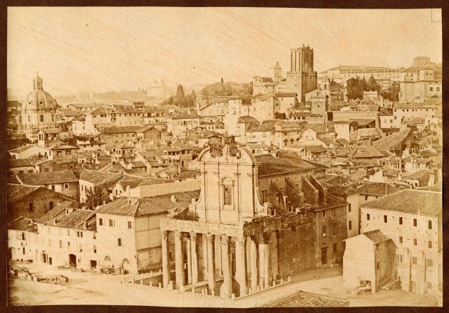 S. Lorenzo in Miranda 1855