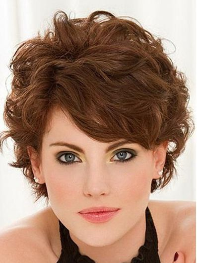 Short Curly Hairstyles With Bangs Popular Haircuts Short Curly Haircuts Short Curly Haircuts 2015 2016