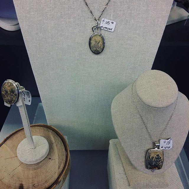 Fossils in jewellery so fun!