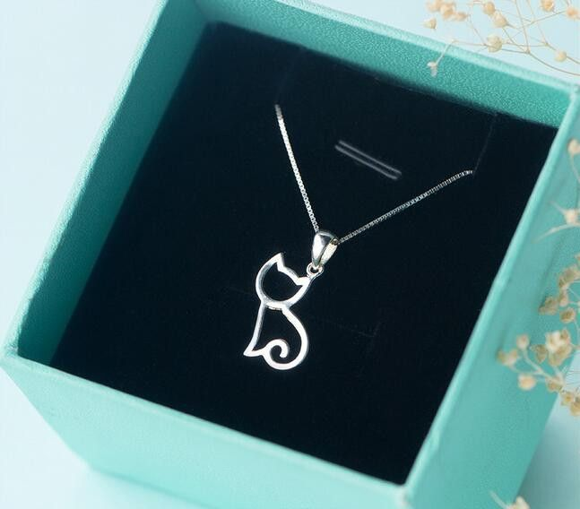 You wish you could take your Kitty Cat with you wherever you go? Well now you can with this sterling silver necklace! You are passionate about cats, right? Jewelry is something we choose with passion.