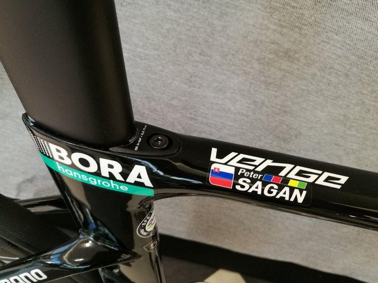 "Peter Sagan ""Cool new Iamspecialized Venge"" Bora Hansgrohe"
