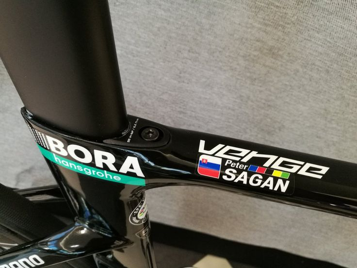 "Peter Sagan ""Cool new Iamspecialized Venge"" Bora Hansgrohe"