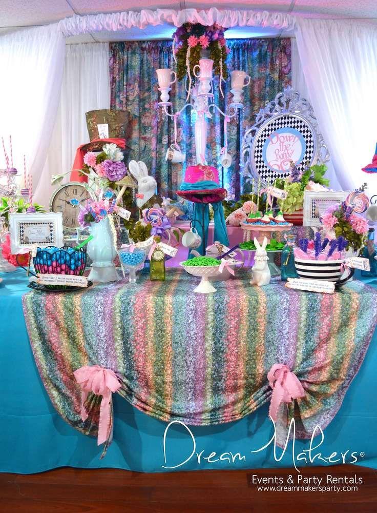 Alice in Wonderland Quinceaera Party Ideas 14