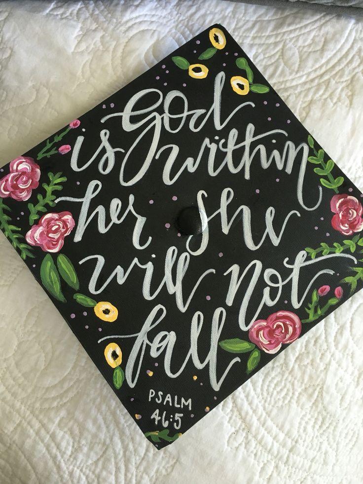 Graduation Cap 2016  Psalm 46:5                                                                                                                                                                                 More