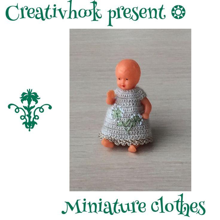329 besten Miniature Doll clothes Bilder auf Pinterest ...