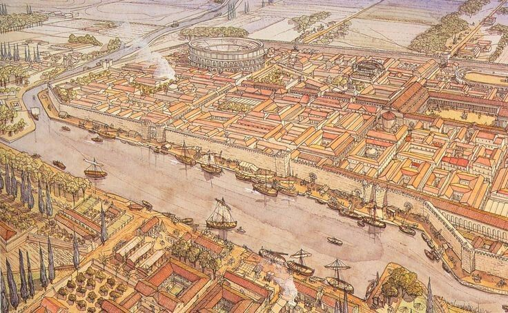70 Besten Architektur Rom Bilder Auf Pinterest: 84 Besten Hist Reconstructions Of Ancient Cities Bilder