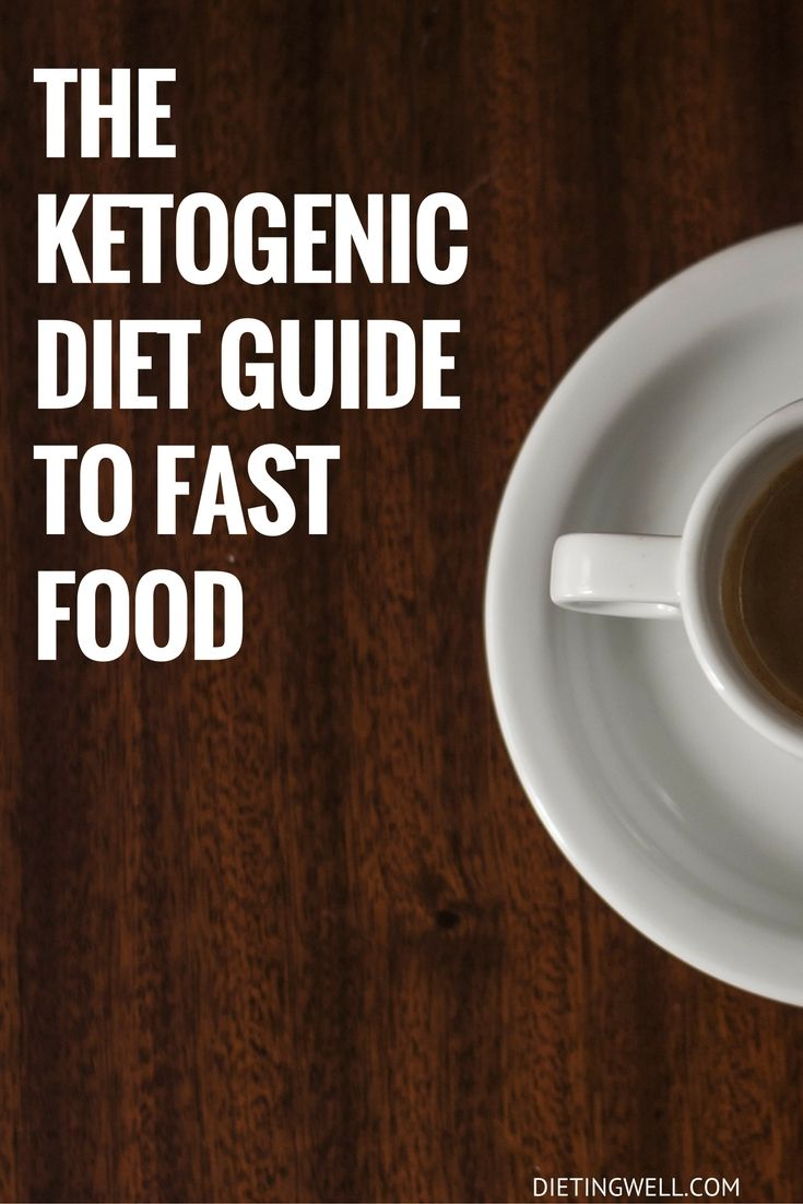 Here is a list of some of the most popular fast food restaurants, and the meals that are keto friendly. If you follow this guide, you can eat fast food and still stick to your diet. | https://dietingwell.com/keto-diet-fast-food/
