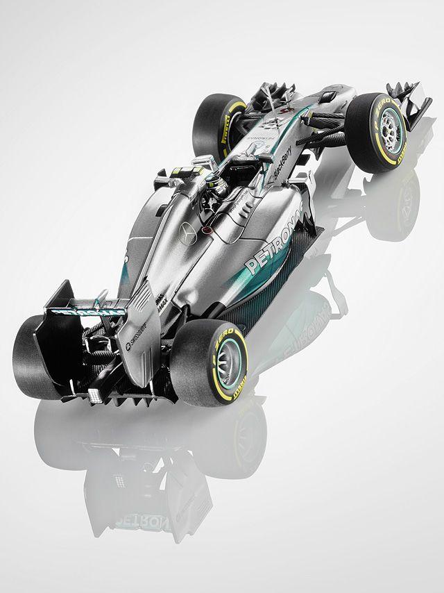 MERCEDES AMG PETRONAS Formula One™ Team, 2014, Nico Rosberg  silver, Minichamps, 1:43
