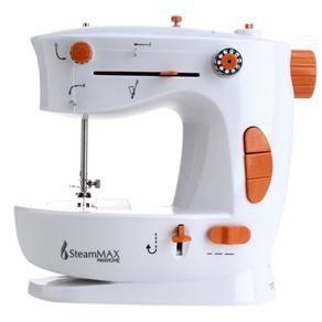 Máquina de Costura Portátil SteamMax MaxHome SM-510 - Branco/Laranja